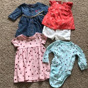 Carter and old navy bundle 3 month old